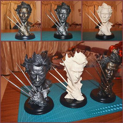 Super Hero X MAN Wolverine Logan Resin Bust Model Hugh Jackman Statue Ornaments