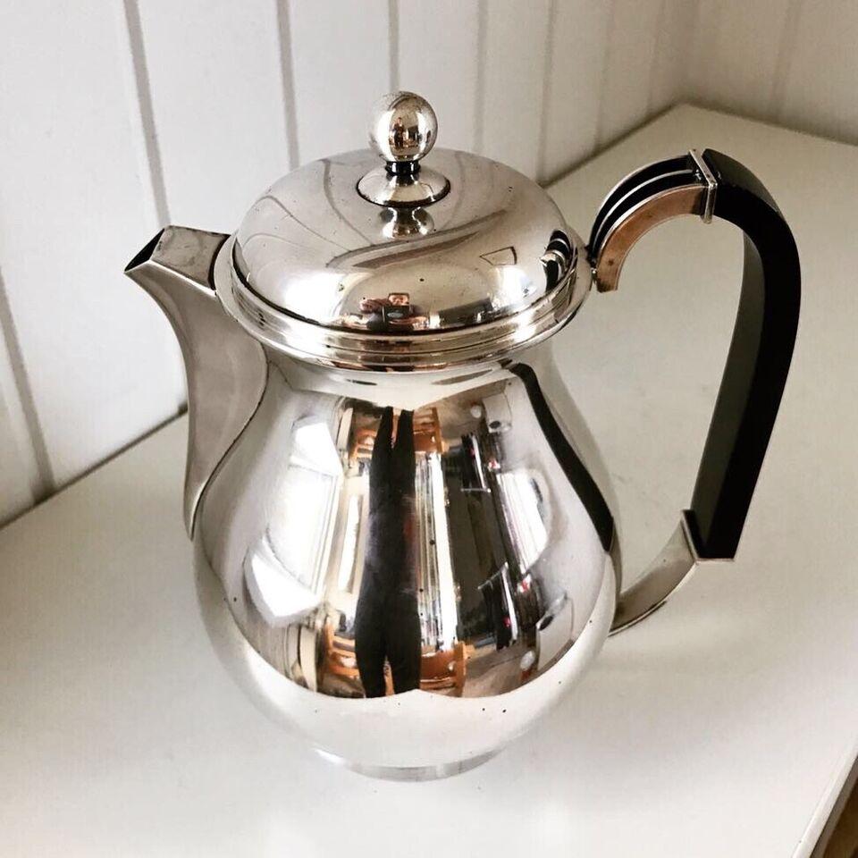 Andet, Vintage pletsølv kaffekande, Cohr atla