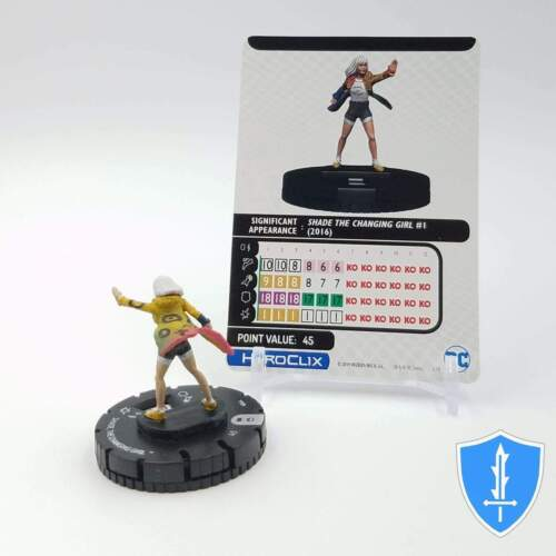 Shade The Changing Girl 044 DC Rebirth HeroClix Miniature Rare