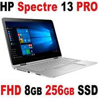 Hp Spectre 13 Pro G2 X360 13.3 Full Hd Touch 3.0ghz 8gb Ssd Windows 10 Pro