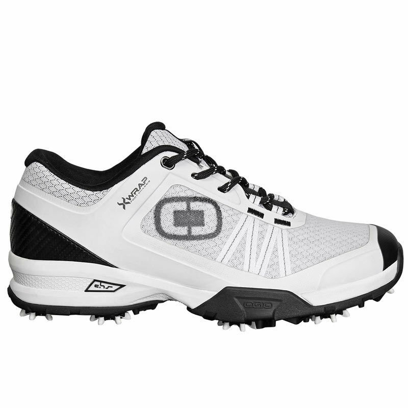 2016 Ogio Sport Spiked Breathable Synkfit Sole Mens Golf Shoes White Cleats 11