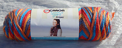 New//NIP /& Non-smoking Home Caron Simply Soft Camo Yarn in Renegade Camo #20006