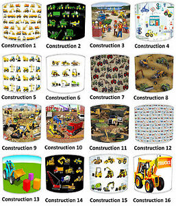 garcons-CONSTRUCTION-JCB-abat-jour-ideal-correspond-a-MUR-MURALES-couettes