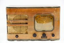 Early Vintage Wood Case Northland Tube Radio 1930's 1940's