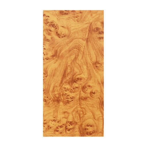 Fashion Birds Eye Wood Grain Textured Vinyl Wrap Sticker Decal Sheet Film Car SH