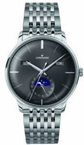 Junghans Meister Calendar Moonphase Self-Winding Men's Watch 027/4505.45