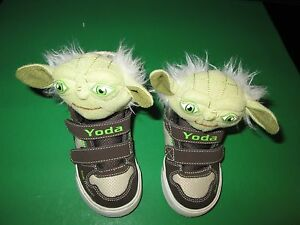 c749c7f64d Image is loading Yoda-Star-Wars-Child-039-s-Sneakers-by-
