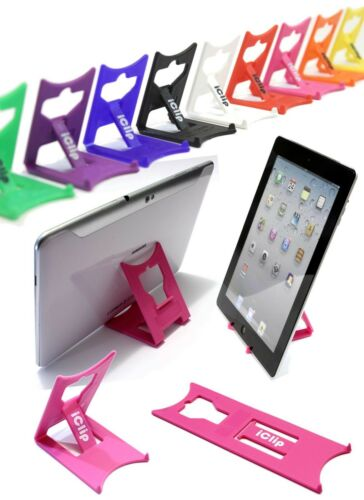 Apple iPad titulaire, Galaxy Tab 9 10 ordinateur tablette rose iClip pliable stand