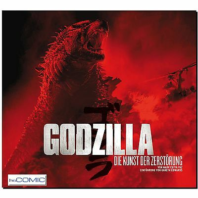 Godzilla Die Kunst der Zerstörung Mark Cotta Vaz Filmographie ARTBOOK