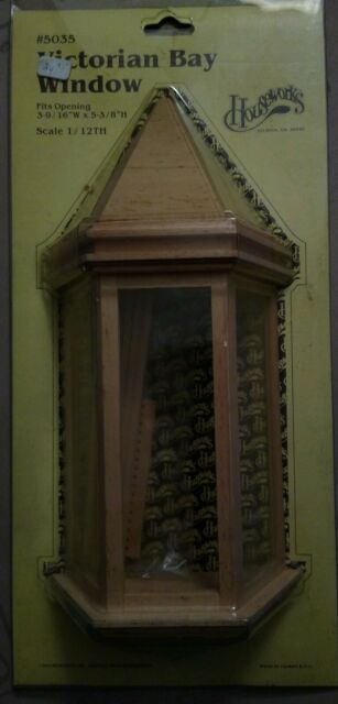 dollhouse 1:12 scale #5039 1pc Miniature Houseworks VICTORIAN SINGLE WINDOW
