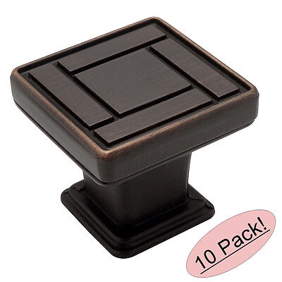 *5 Pack* Cosmas Oil Rubbed Bronze Cabinet Knobs #7155ORB