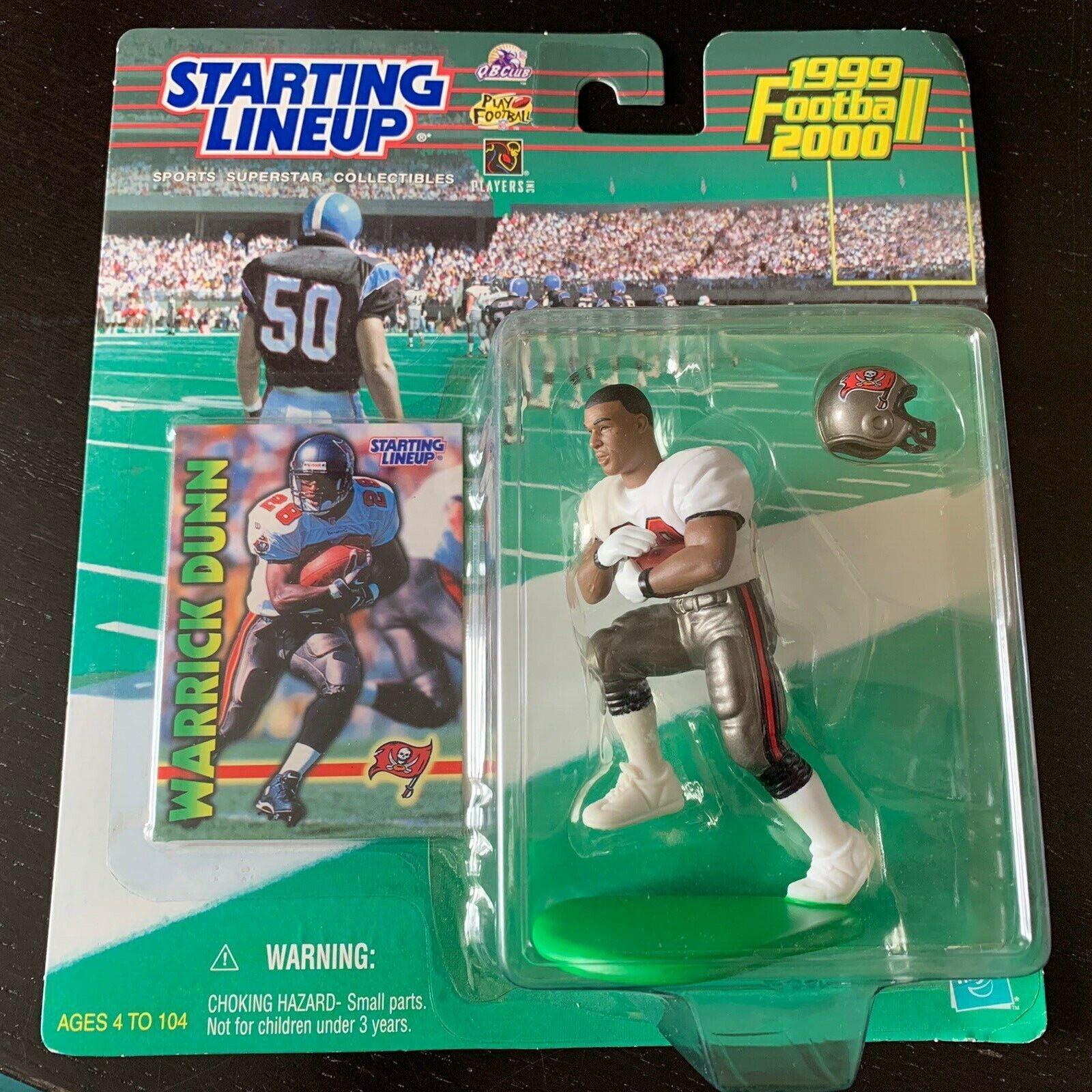 1999 Starting Lineup Football Warrick Dunn