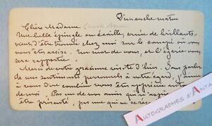Jane-DIEULAFOY-femme-Archeologue-ecrivain-nee-Toulouse-Bijou-perdu-Lettre