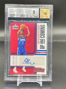 2018-Shai-Gilgeous-Alexander-Panini-Contenders-Up-amp-Coming-AUTO-Rookie-BGS-9-OKC