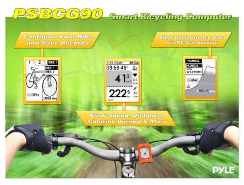 Smart Bicycling Computer w//GPS Performance /& Nav Analysis Software PSBCG90