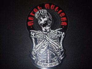"METAL MULISHA Heart MM Skate Sticker 6/"" motocross skateboard decal"