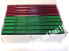 1 Box 72no Mixed Rexel Blackedge Carpenters Pencil Hard Medium Pencils Carpenter