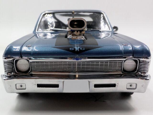 1969 Chevrolet Nova BLUE 18809 GMP