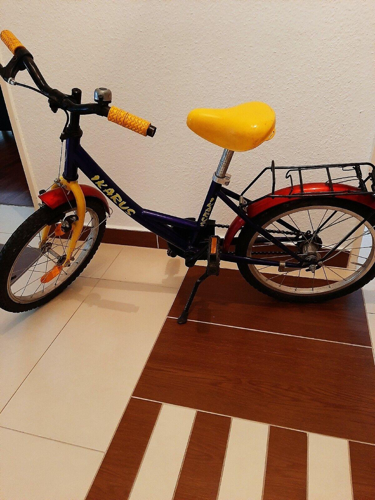 Ikarus Kinder Fahrrad Unisex  18 zoll
