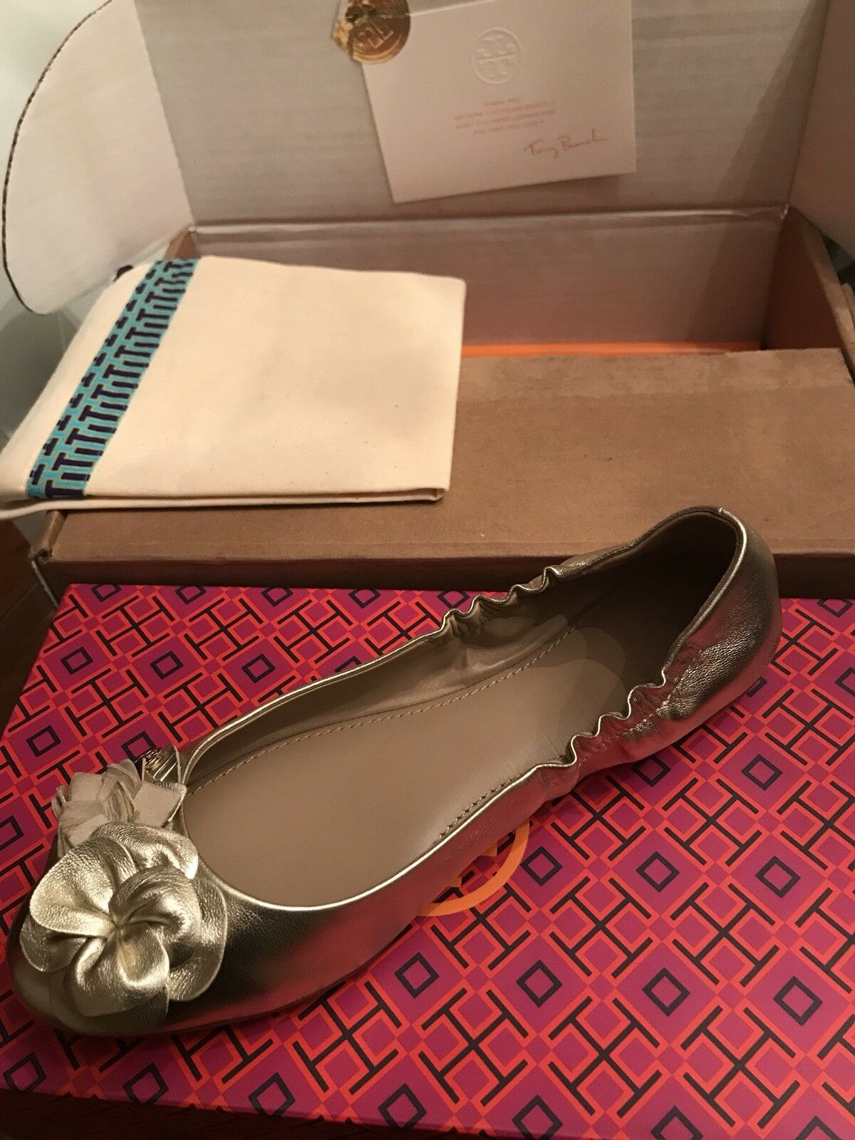 New tory tory tory burch shoes size 7, 100% Authentic 8c906c