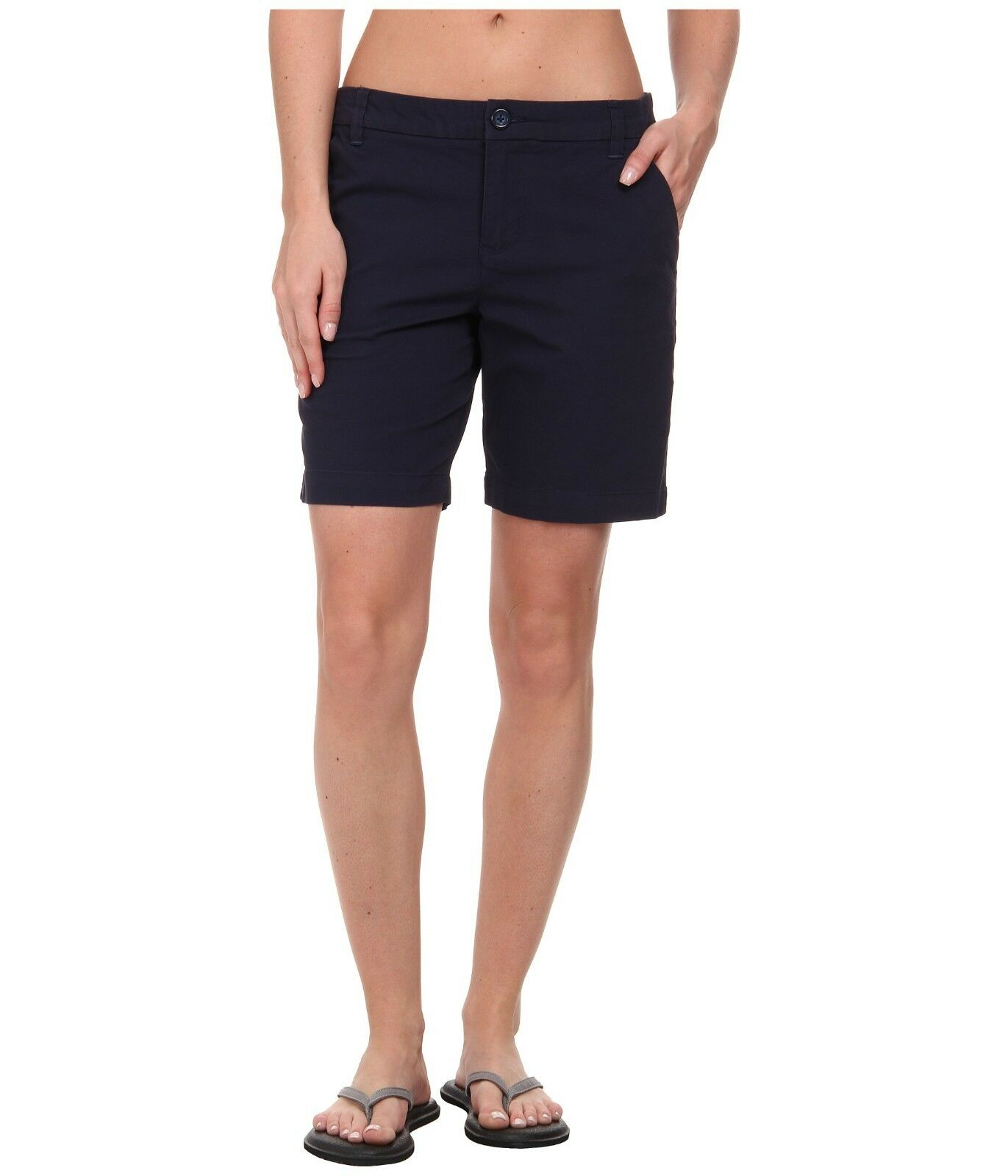 PATAGONIA Women's Stretch All-Wear Shorts 8  Inseam Size 4 NAVY blueE NWT