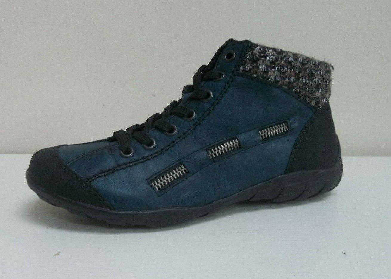 Rieker ladies turquoise lace-up schuhe, UK 3.5 EU 36.5, 36.5, 36.5, BNWB 22ce90