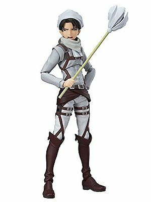 figma EX-020 Attack on Titan Levi Cleaning ver. Shingeki Good Smile Import Japan