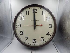 general electric vintage clock telechron