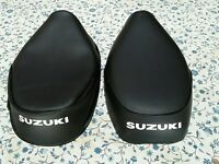 Suzuki Fa50 Moped 1980 To 1991 Seat Cover White Logo (s6)