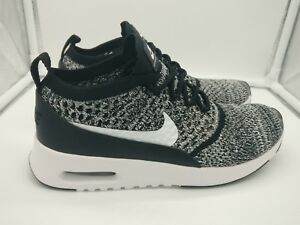 Details about Nike Womens Air Max Thea Ultra Flyknit FK UK 5 Black White Oreo 881175001
