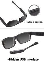720P HD Spy 16GB Hidden Camera Sunglasses Frame Dark Glasses Video Recorder
