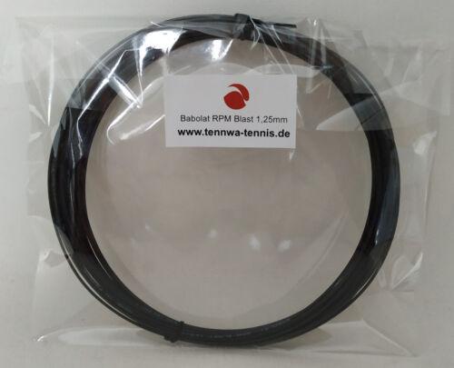 Babolat RPM Blast 1,25mm schwarz 12m 0,87€//lfd. m Babolat PREMIUM Händler*