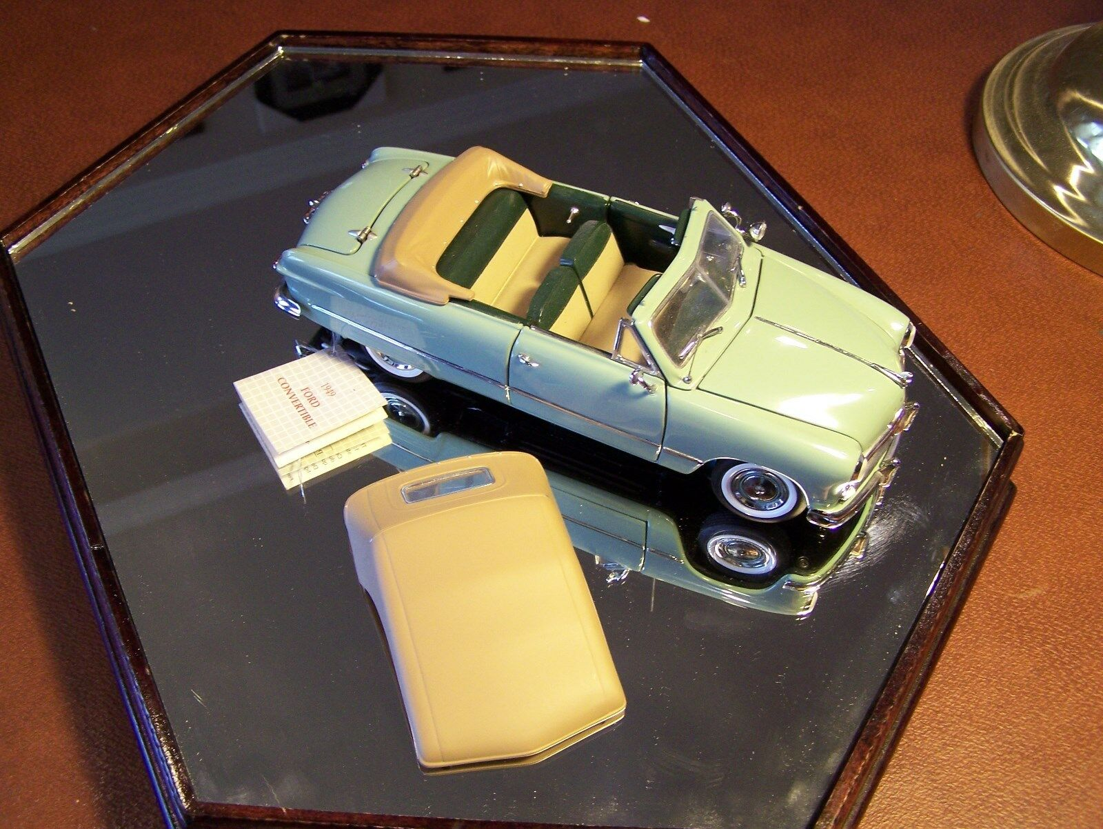 Franklin mint 1949 pebble beach ford Grünck & Stiefel - box oder papiere