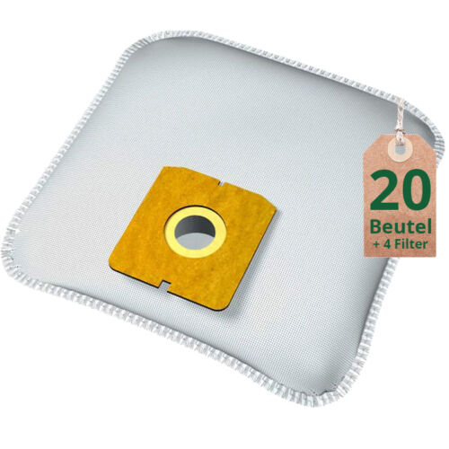 Staubsaugerbeutel passend für Aldi QU 370 Filtertüten Staubbeutel Vlies