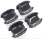 Carbon Fiber Outer Door Handle+Handle Bowl Cover Trim For Audi A3 8V 2014-2018