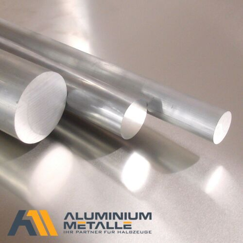 Aluminium rund Ø 10-45mm Aluminiumstange Rundstange Alu AlCuMgPb Rundmaterial