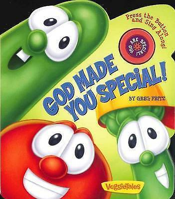 God Made You Special!: A VeggieTales Book (VeggieTales (Candy Cane Press))