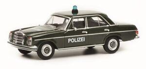 """WunderschöNen Schuco 20176-1/64 Mercedes-benz /8 """"polizei"""" Neu"""