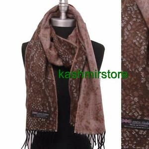 NEW Women 100/% PASHMINA//CASHMERE SCARF//WRAP//SHAWL Super soft Solid Dark Brown