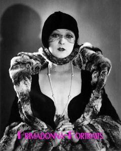 FAY WRAY 8X10 Lab Photo 1920s Stunning, High Fashion Elegance Portrait
