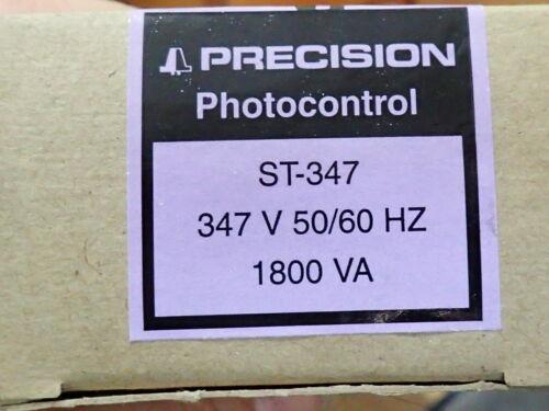 PRECISION ST-347 *NEW* OUTDOOR PHOTOELECTRIC CONTROL 347VAC 1800VA