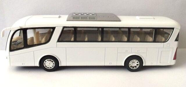 kinsmart coach travel metro bus 7 inch diecast model car toy plain