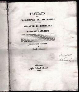 TRATTATO-DELLA-CONOSCENZA-DEI-MATERIALI-ARTE-DI-EDIFICARE-RONDELET-1840-VOL-1