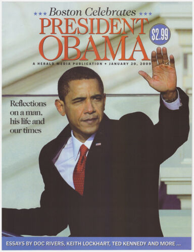 2009 Boston Herald January 20 Reflections Boston Celebrates President Obama
