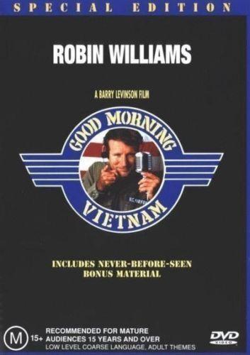 1 of 1 - Good Morning Vietnam DVD ROBIN WILLIAMS TOP 1000 MOVIE BRAND NEW SEALED Region 4