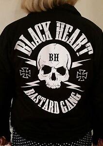 Ladies-rockabilly-biker-greaser-psychobilly-Black-Heart-Bastard-Gang-Jacket