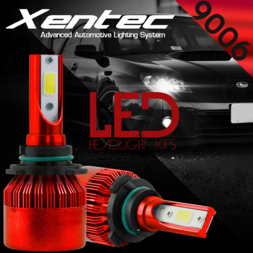 XENTEC LED HID Headlight Conversion kit 9006 6000K for 2004-2012 GMC Canyon