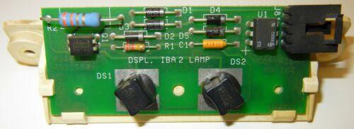 /& S IGT S-2000 I INCANDESCENT BILL VALIDATOR BEZEL LIGHT BOARD