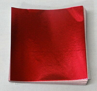 """Other Baking Accessories Home & Garden Red Candy Foil Wrappers Confectionery Foil 500 Count 3""""x3"""" 4""""x4"""" 6""""x6"""""""