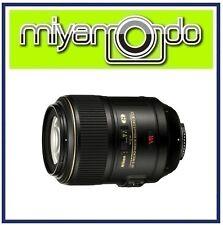 Nikon AF-S VR Micro 105mm f/2.8G IF-ED Lens